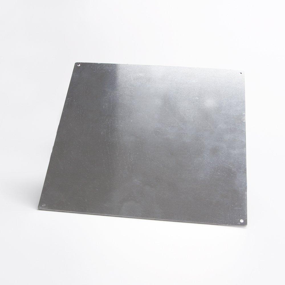 Imprimante 3D Lit chauffant en aluminium, Plaque en aluminium pour Hotbed MK2 d'imprimante 3D, 220*220*3mm Plaque en aluminium pour Hotbed MK2 d' imprimante 3D Co-link