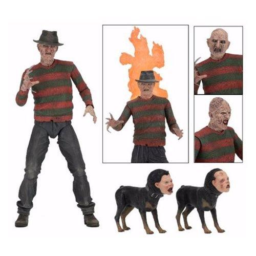 Nightmare on Elm Street Ultimate Part 2 Freddy's Revenge Freddy Krueger 7-Inch Action Figure (Freddy Street Krueger Scene Elm)