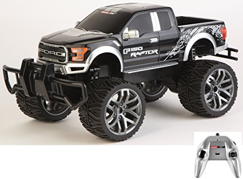 Carrera RC Officially Licensed Ford F-150 Raptor Remote Control Vehicle, Black - Games Controlled Radio Car