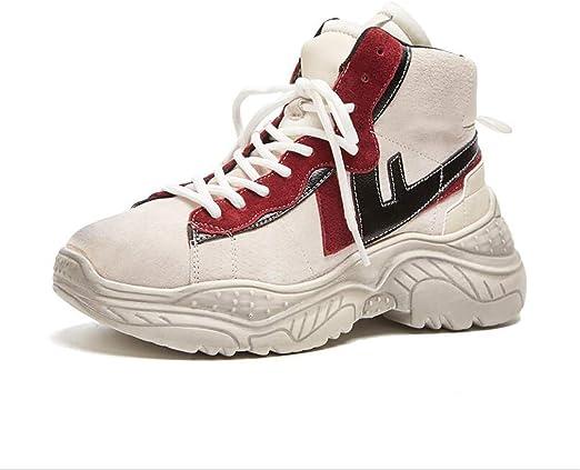 Hy Zapatillas de Running para Mujer, Estilo Casual, 2018, con muelles y caídas, Muy cómodas, Zapatillas de Correr y Zapatillas de Senderismo para Mujer: Amazon.es: Jardín