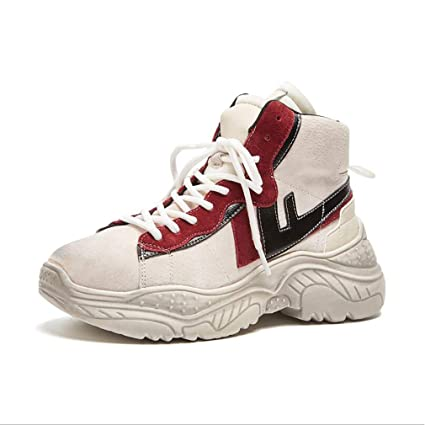 d8397080a4af5 Amazon.com: Women's Casual Shoes 2018 New Spring/Fall High-Top ...