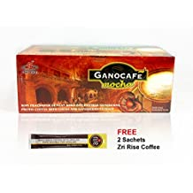1 Box Gano Excel Cafe Mocha Coffee with FREE sample + Free Expedited Shipping By ConnieStore