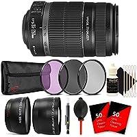 Canon EF-S 55-250mm f/4-5.6 IS II Lens for Canon EOS 1300D 1200D 700D with Accessories