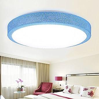 Zt Conduit De Plafond Lampe Rose Bleue Crack Balcon Salon