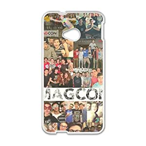 Happy Magcon Fashion Comstom Plastic case cover For HTC One M7