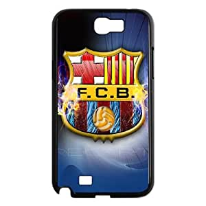 Samsung Galaxy N2 7100 Cell Phone Case Black Barcelona Football FAK 3D Back Cell Phone Case