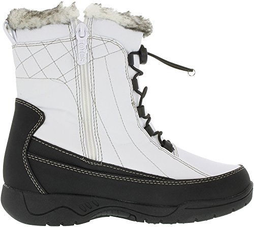 Totes White Synthetic Boot Ankle High Women's Eve UwrYBU