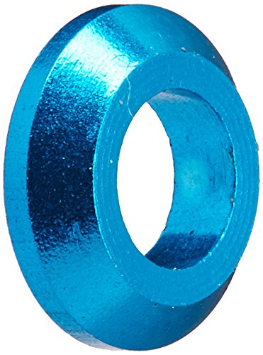 Aluminum Tapered Washer (Duratrax Aluminum Tapered Washer M3 Blue (10))