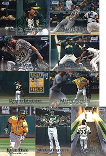 - 2019 Topps Stadium Club Baseball Oakland Athletics Team Set of 9 Cards: Khris Davis(#109), Rickey Henderson(#132), Ramon Laureano(#151), Stephen Piscotty(#162), Matt Chapman(#164), Dennis Eckersley(#174), Matt Olson(#176), Jose Canseco(#185), Nick Martini(#191)