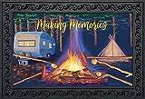 Briarwood Lane Making Memories Fall Doormat Camping Campfire Indoor Outdoor 18'' x 30''