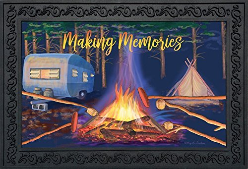 Briarwood Lane Making Memories Fall Doormat Camping Campfire Indoor Outdoor 18'' x 30''
