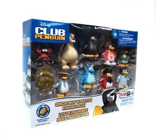 (Club Penguin Exclusive Figure 8 Pack with Sensei )