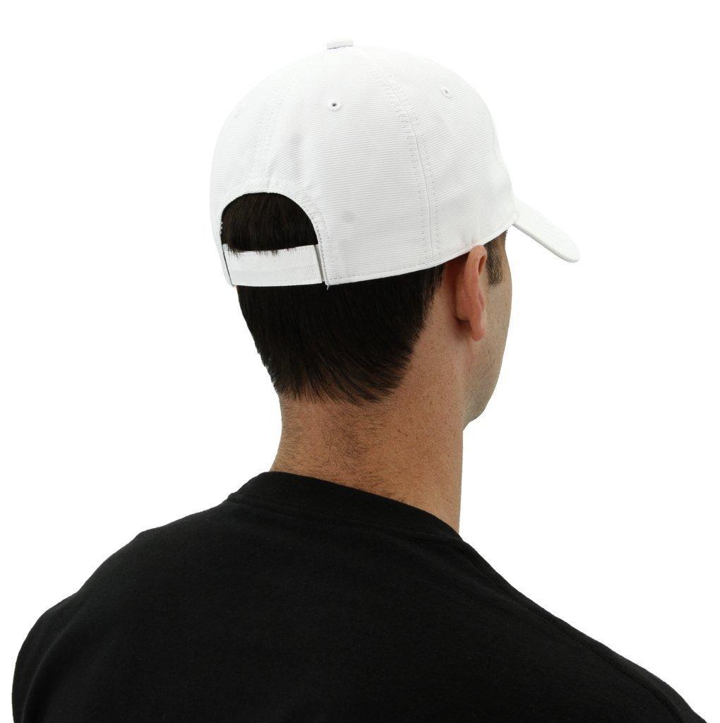 adidas Men's Originals Relaxed Strapback Cap, White, One Size by adidas Originals (Image #4)