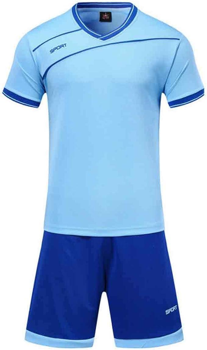MUCHAO Conjunto de Camisetas de fútbol para Adultos jóvenes ...