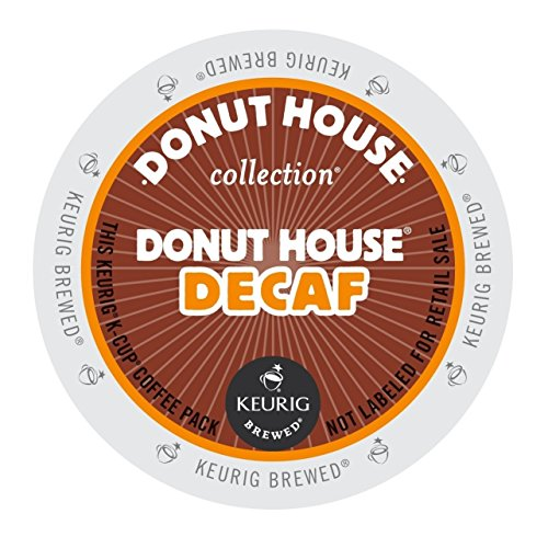Donut House Collection, Donut House Decaf, K-Cup Portion - Green Mountain Donut House Coffee