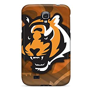 New Arrival Cover Case With Nice Design For Galaxy S4- Cincinnati Bengals