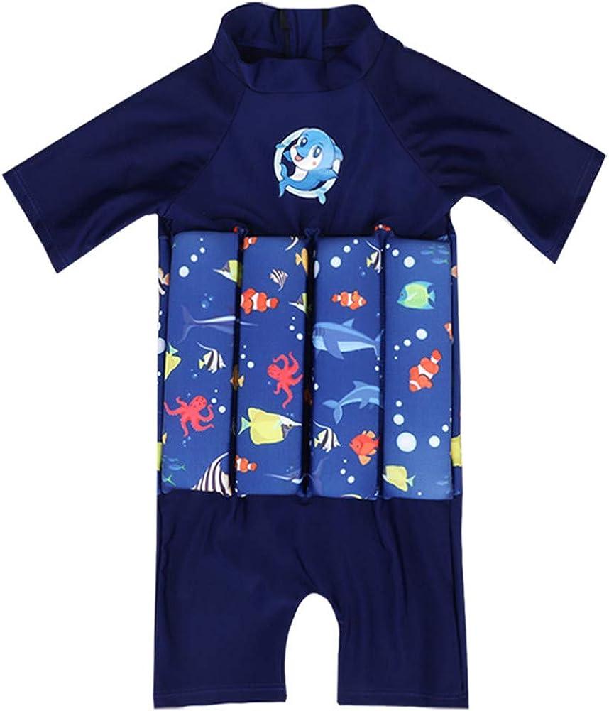 BAOPTEIL Baby Boys//Girls Float Suit Kids UV Floatsuit Toddler Boys Floating Swimsuit