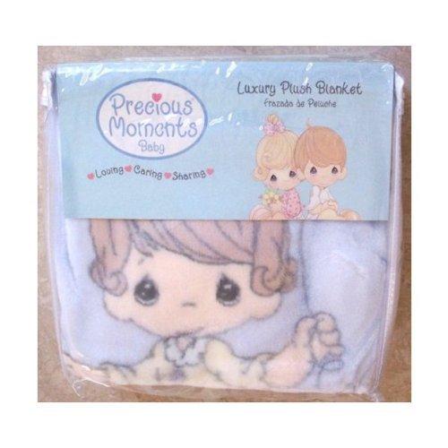Precious Moments Luxury Baby Plush Blanket ()