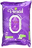 Prevail Quilted Cotton Adult Disposable Large (12'' x 8'') Washcloths with Lotion 48 CT (2 Packs)