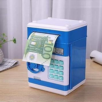 Taoytou Hucha para niños, caja de ahorro de código electrónico ...