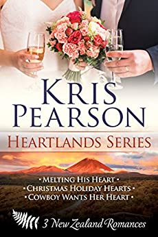 3 novels - The complete Heartlands Series: Sexy contemporary New Zealand romances by [Pearson, Kris]