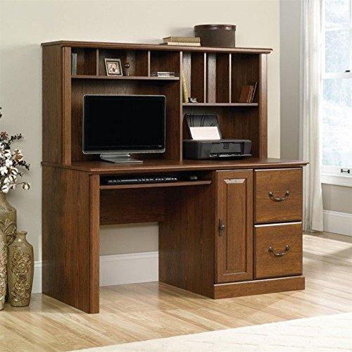 Sauder Orchard Hills Computer Desk with Hutch in Milled Cherry (Sauder Computer Furniture)