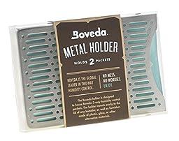 Boveda Metal Holder - Holds 2 Large Boveda Packs