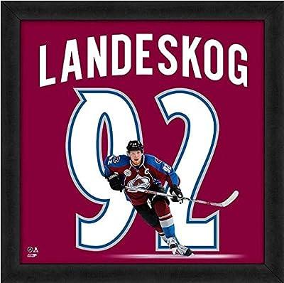 "Gabriel Landeskog Colorado Avalanche NHL UniFrame Photo (Size: 20"" x 20"") Framed"