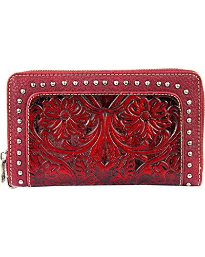 montana-west-womens-trinity-ranch-tooled-wallet-with-studs-red-one-size