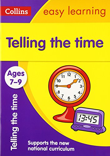 [BEST] Collins Easy Learning Age 7-11 — Telling Time Ages 7-9: New Edition TXT