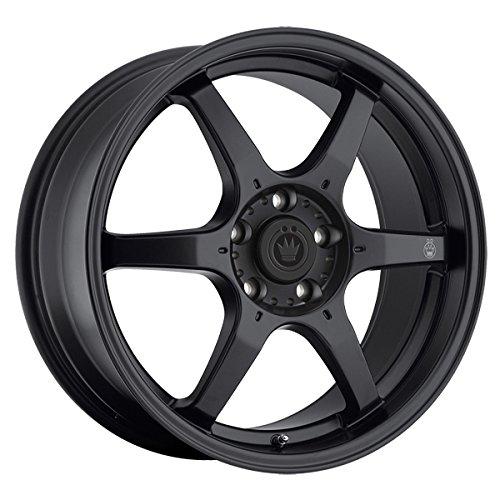 Konig 30B Backbone 16x7 5x114.3 +40mm Matte Black Wheel Rim