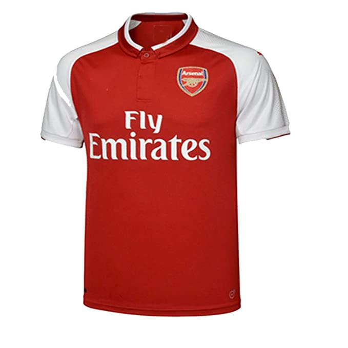 6abf4c09639 Amazon.com   Arsenal 2017 18 Kid Youth REPLICA Jersey Kit (Shirt ...