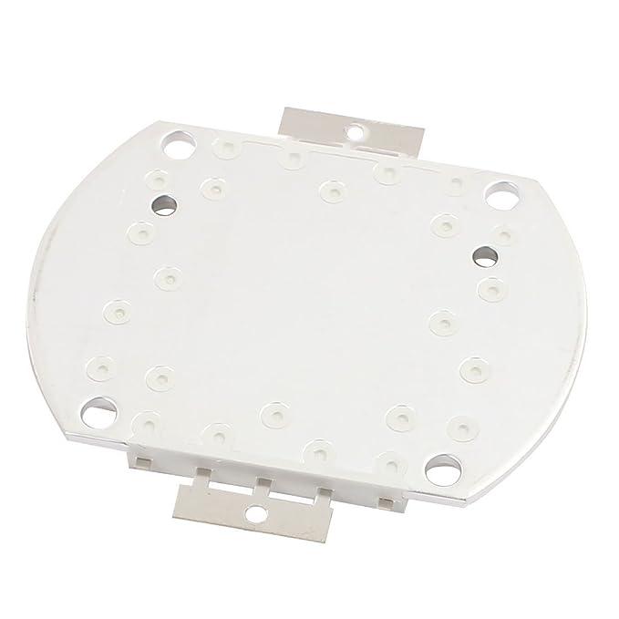 Cuentas eDealMax DC 30-35V 50W LED de alta potencia SMD chip luz blanca cálida para el bulbo del reflector - - Amazon.com