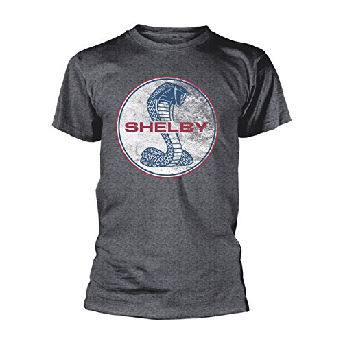 Shelby AC Cobra Logo Muscle Car Official Tee T-Shirt Mens Unisex (Official Logo Car)