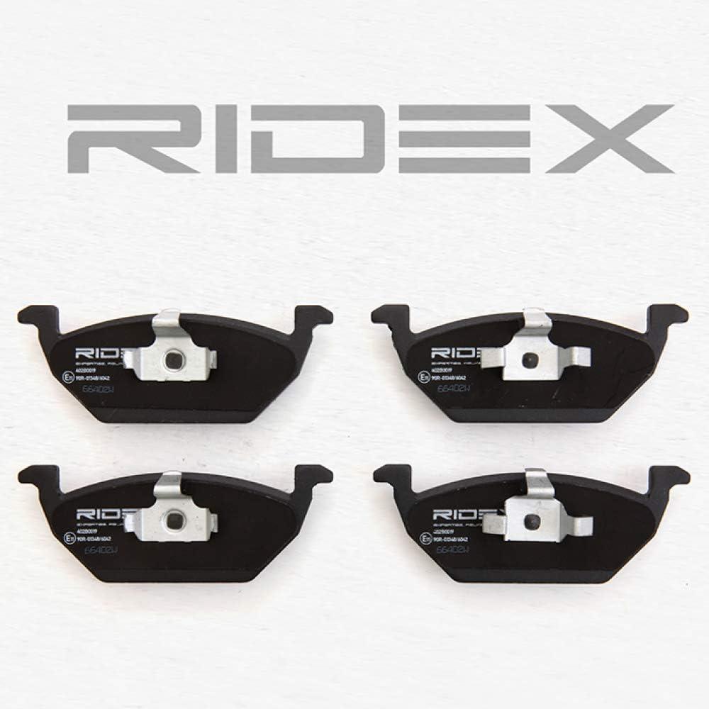 Ridex 402B0019 Bremsbelagsatz Scheibenbremse Set of 4