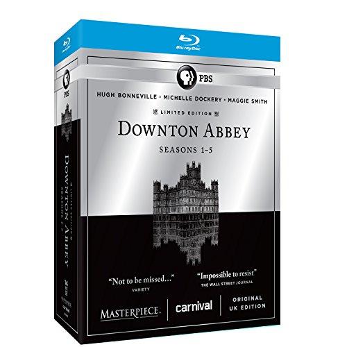 Masterpiece Classic: Downton Abbey: Seasons 1-5 [Blu-ray] (Downton Abbey Season 1 Blu Ray)