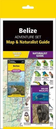 Belize Adventure Set: Map & Naturalist Guide