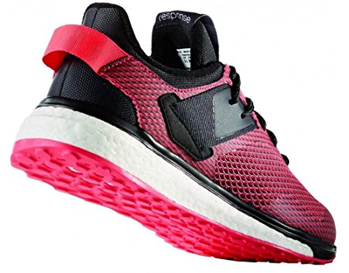 Adidas Dames Boost Response 3 Hardloopschoenen Ice Blue / Ice Blue / Vapor Blue B (m) Ons Shock Pink / Shock Pink / Solar Red