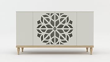 Kommode Sideboard Highboard Anrichte Wohnzimmer Schrank Holz Malva