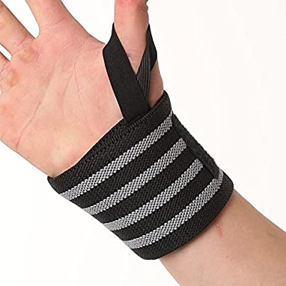 JKHOIUH Sports Wristband Breathable Power Weightlifting Pressure Wrist Straps for Men and Women Fitness Protection Quality Professional Support Safety Sweat Estimated Price £11.36 -