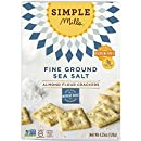 Simple Mills Almond Flour Crackers, Fine Ground Sea Salt, 4.25 Ounce