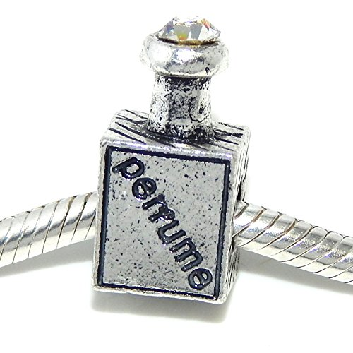Jewelry Monster Quot Perfume Bottle W White Crystal Quot Charm