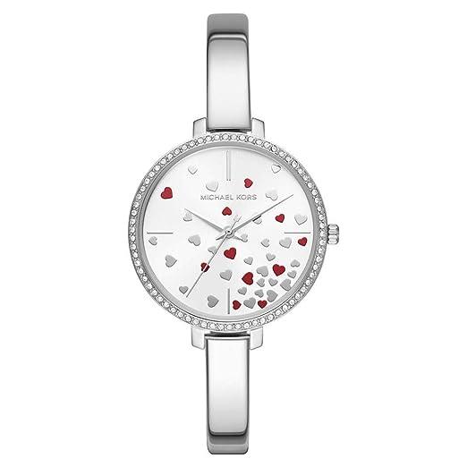 Michael Kors Reloj Analógico para Mujer de Cuarzo con Correa en Acero Inoxidable MK3976: Amazon.es: Relojes