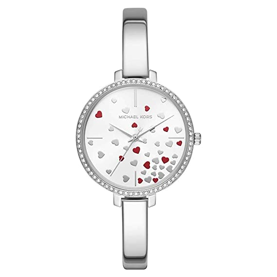 967bbef509e6 Michael Kors Womens Analogue Quartz Watch with Stainless Steel Strap  MK3976  Amazon.co.uk  Watches