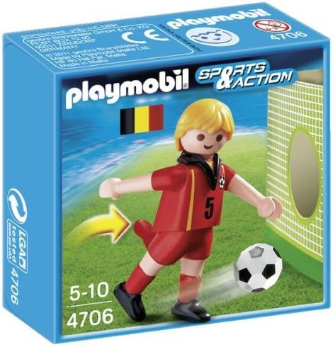 Playmobil Fútbol - Fútbol: Jugador Bélgica (4706): Amazon.es ...