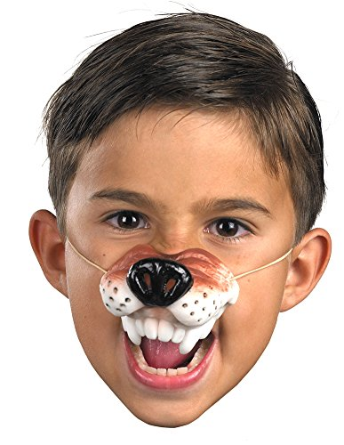 Wolf Nose With Elastic (Nose Wolf With Elastic Mask Halloween Costume - Most Adults)