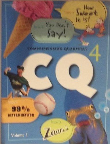 Read Online Rigby Literacy: Comprehension Quarterly Grade 4 3 PDF