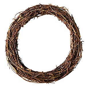 Ougual DIY Crafts Natural Grapevine Wreaths 69