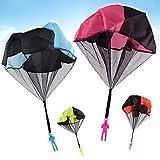 HENGBANG 4PCS Set Tangle Parachute Figures Hand