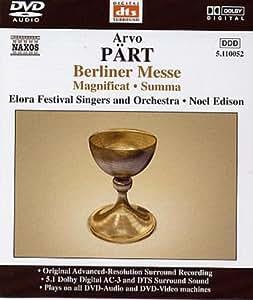 Berliner Messe (DVD Audio)